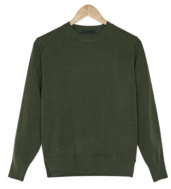 easy 7-colors basic knit