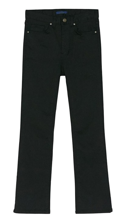 napping slim boots-cut pants