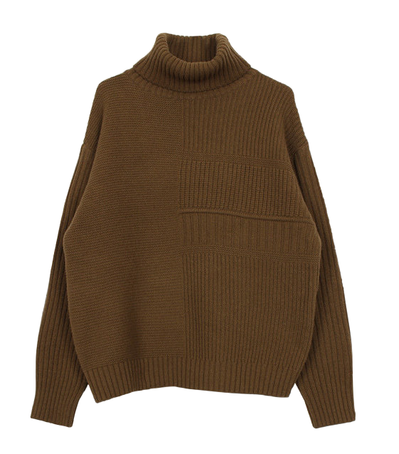Wool turtle knit (4color)