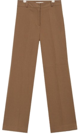 FRESH A straight maxi slacks (s, m, l)