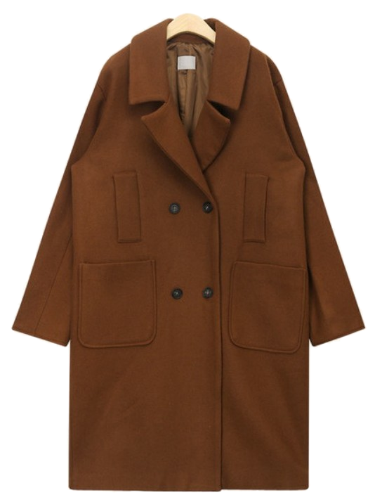 loyd wool double coat