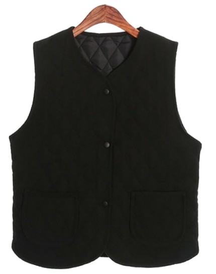 stay qualting vest