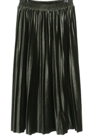 monica pleats skirt