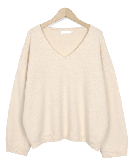 Daily soft wool knit_S (size : free)