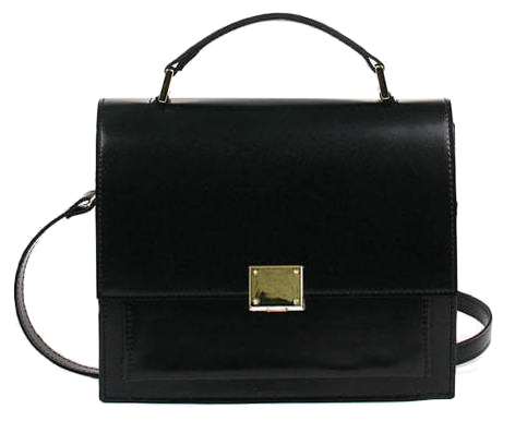 Buckle square cross bag (5color)