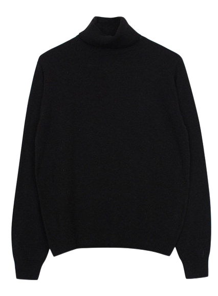 Color turtle-neck knit (4color)