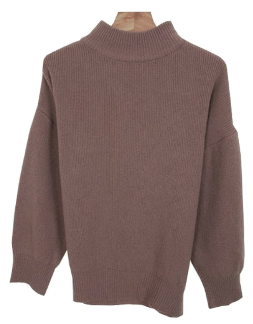 Chicory - Mock Neck Knit