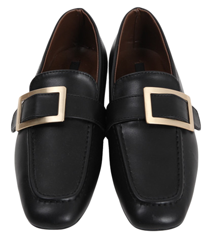 Low square buckle loafer_M (size : 230,235,240,245,250)