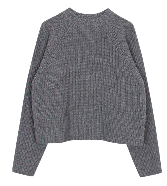 Golgi half neck knit (2color)