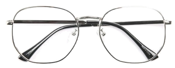 brain simple glasses