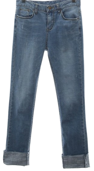 snap roll-up denim PT (napping)