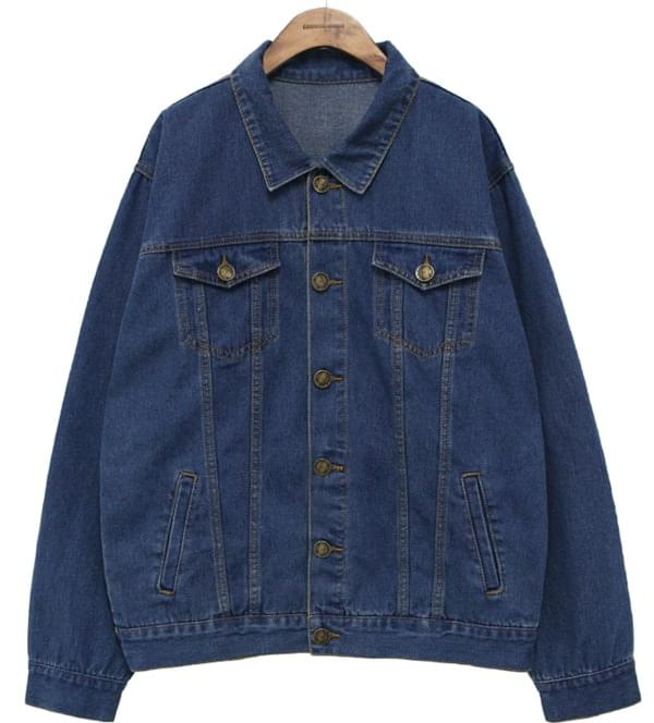 [OUTER] VINTAGE COTTON DENIM JACKET