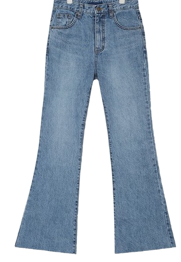 mind boots cut denim pants (s, m, l)