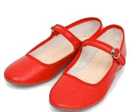 girlish buckle flat shoes (230-250)