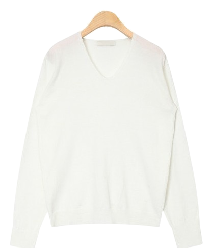 delicate v-neck knit