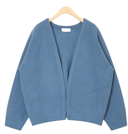 open meaning cardigan