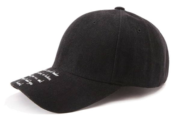 to-be lettering cap