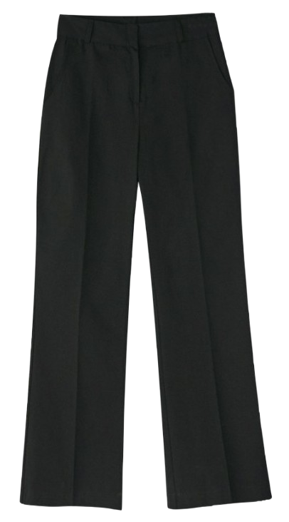 urban cotton boots-cut slacks