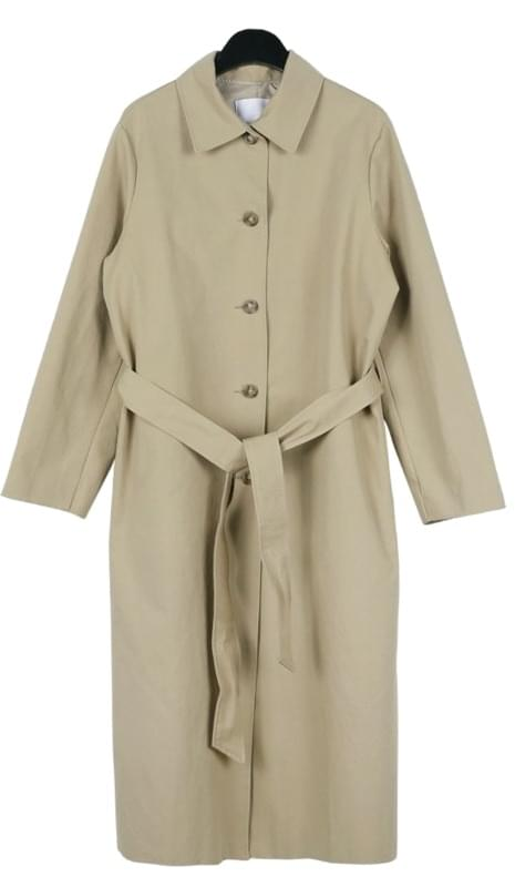 Mono single trench coat