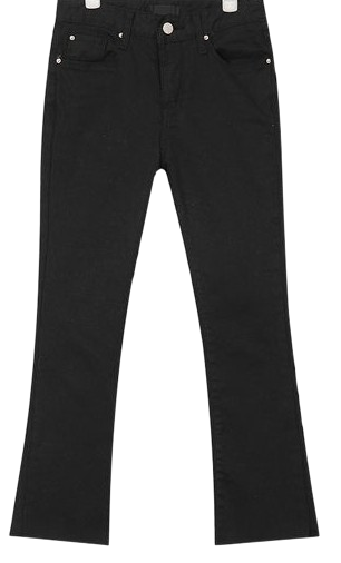 nancy boots-cut cotton pants (s, m, l)