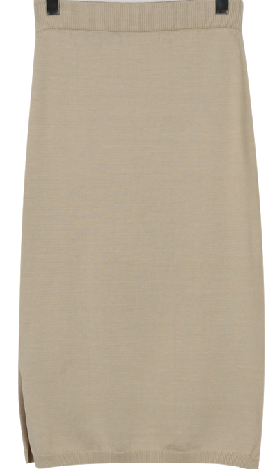 Fortune soft knit skirt_H (size : free)