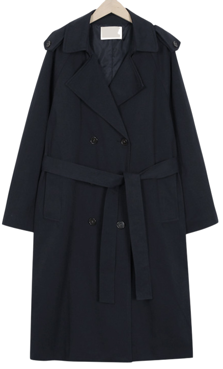 Robust daily trench coat_B (size : free)