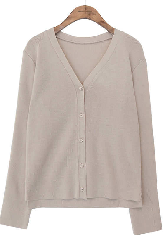 HUSH V NECK CARDIGAN
