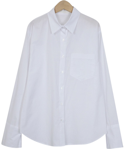 Vanilla cotton shirts_H (size : free)