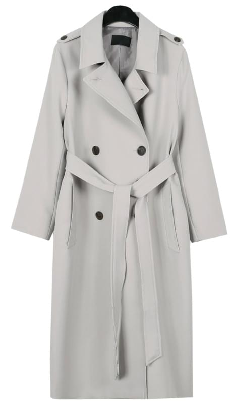 Chic basic trench coat