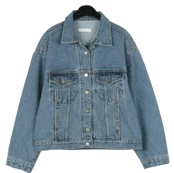 Charming over denim jacket