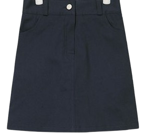 mary cotton mini skirt