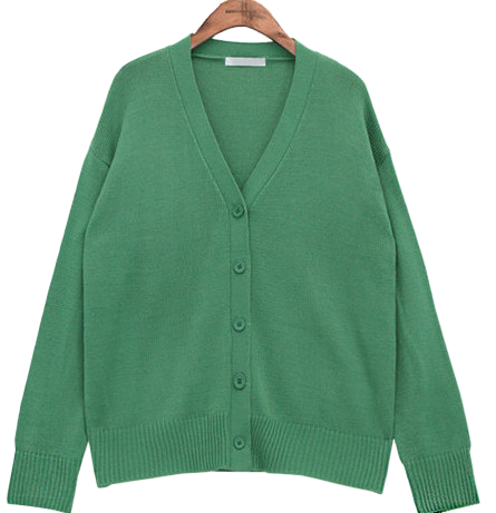 7 COLOR KNIT CARDIGAN