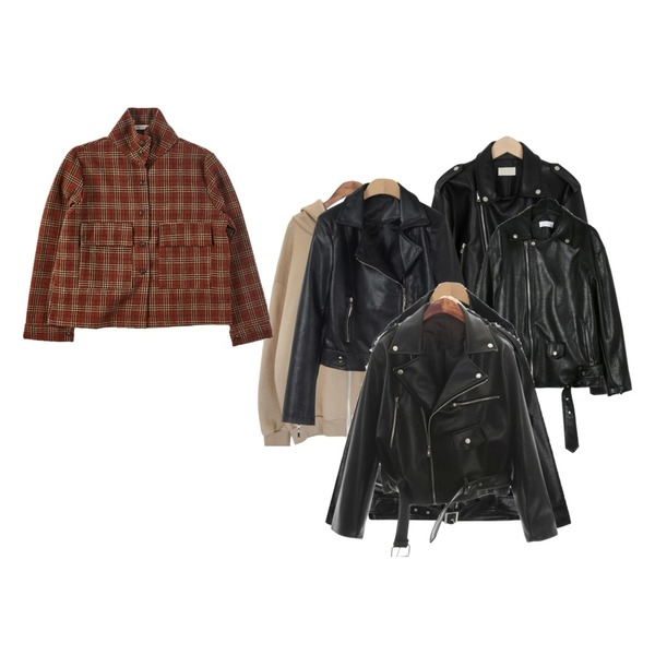 common unique [OUTER] 6 COLOR LOOSE FIT HOOD ZIPUP,daily monday Chic simple rider jacket,From Beginning Outfit rider jacket_M (size : free)등을 매치한 코디