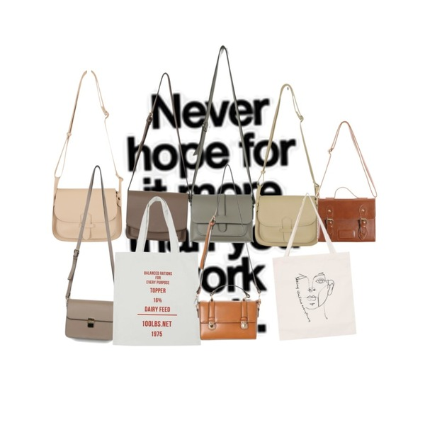 Never,From Beginning Stitch pocket leather bag_B (size : one),daily monday Modern simple shoulder bag등을 매치한 코디