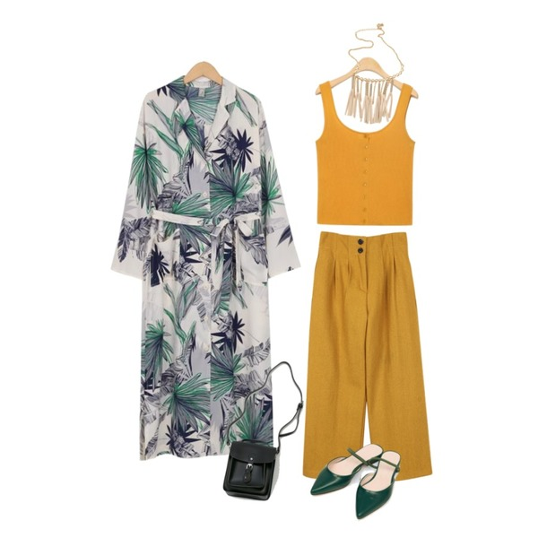 biznshoe Classic wool pants (3color),AIN simple front button knit sleeveless,From Beginning Made_ops-110_Cocktail maxi robe cardigan (size : free)등을 매치한 코디