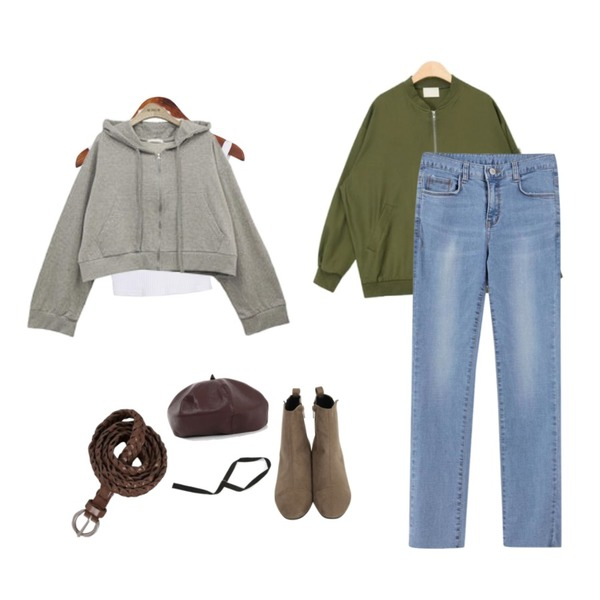 Dailyco 덥스탭-t,AIN basic having blouson,From Beginning Quiet sweat ankle walker_H (size : 230,235,240,245,250)등을 매치한 코디