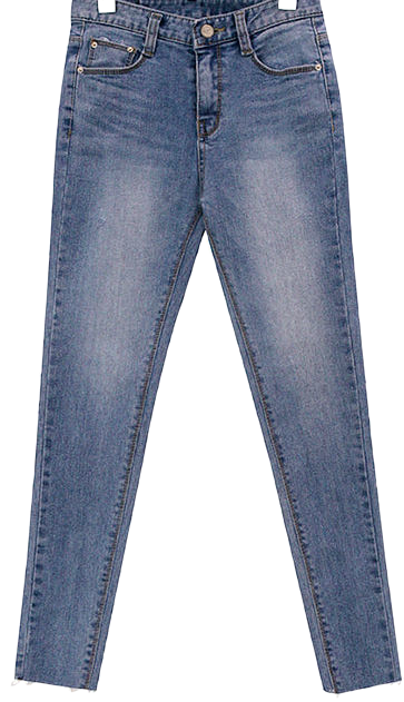 LIGHT WASHING DENIM SKINNY