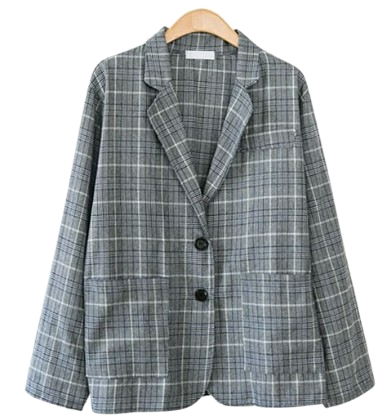 Billing check jacket # Additional skirt available