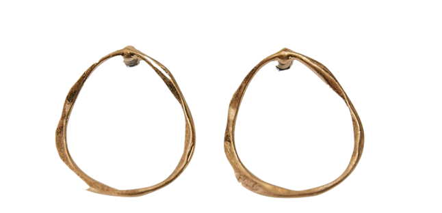 antique shape earring