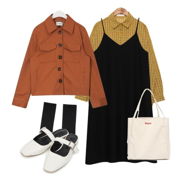 AIN long color socks,common unique [TOP] VINTAGE MOOD CHECK SHIRTS등을 매치한 코디