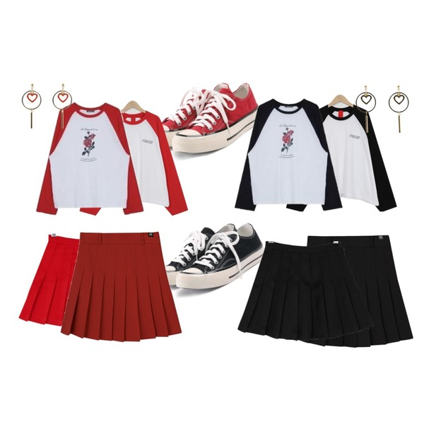 ROCOSIX simple coton sneakers,ROCOSIX simple coton sneakers,From Beginning Like peace raglan T_M (size : free)등을 매치한 코디
