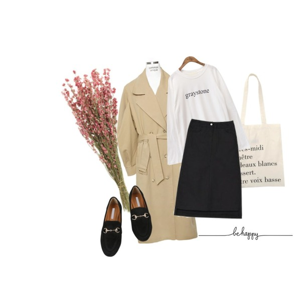 flower,From Beginning Made_acc-009_french cotton bag (size : one),common unique [OUTER] WIDE PUFF TRENCH COAT등을 매치한 코디