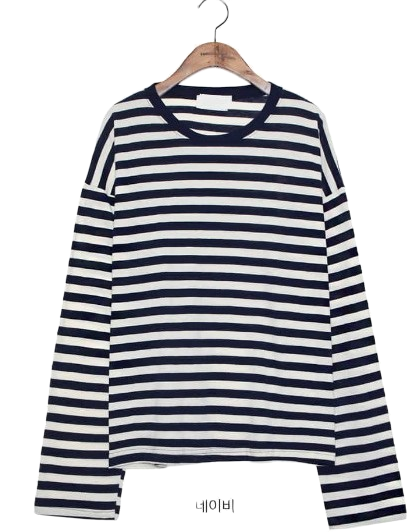 [TOP] HOLY STRIPE COTTON T