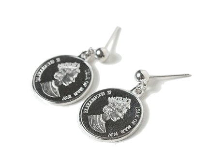 Port Ring Coin Earring