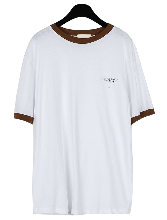 Sporty color point tee