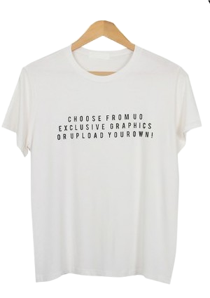 Height Lettering T-shirt