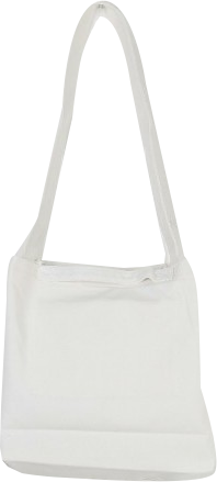 Plain cross eco bag