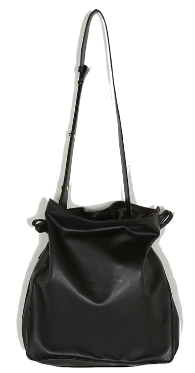 daily strap bucket bag