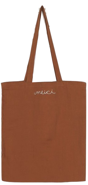 Merci soft cotton bag