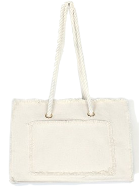 rope canvas bag